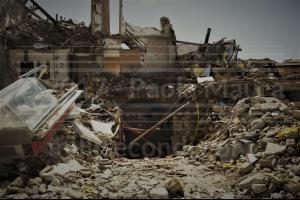 Amatrice distrutta dal terremoto - Paola Maura